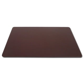"Brown Bonded Leather Conference Table Pad (17""x14"")"