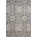 kathy ireland Home Bel Air Charcoal Rug (9' x 12')