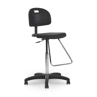 Ergocraft High-back Footrest Stool