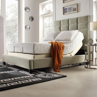 INSPIRE Q 12-inch Queen-size Medium Plush Memory Foam Mattress