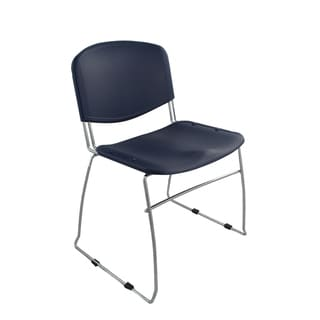 Ergocraft Navy DOT Stacking Chairs (Set of 4)