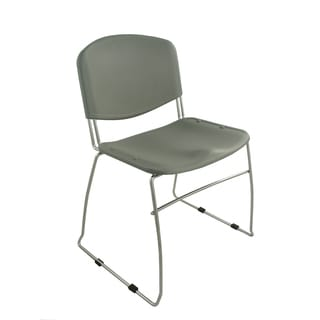 Ergocraft Grey DOT Stacking Chairs (Set of 4)