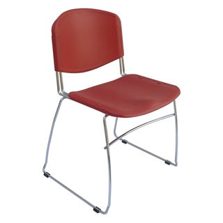 Ergocraft Red DOT Stacking Chairs (Set of 4)