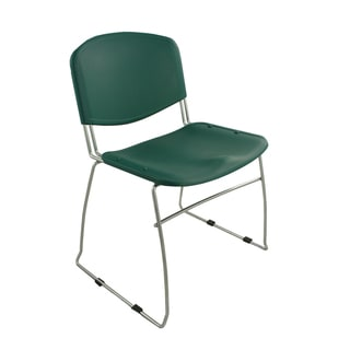Ergocraft Green DOT Stacking Chairs (Set of 4)