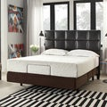 Inspire Q 12-inch King-size Medium Plush Memory Foam Mattress