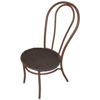 Miadera Bistro Mocha Weave Chair (Set of 2)