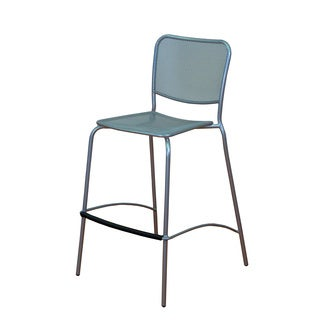 SoHo Platinum Barstool (Set of 2)