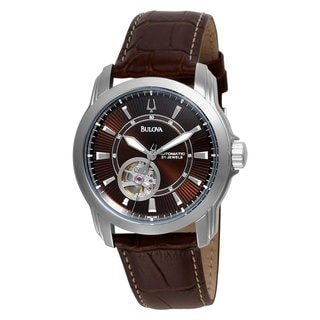 Bulova Men's Automatic Mechanical Strap Dial Watch