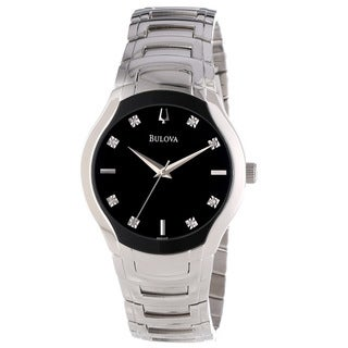 Bulova Men's Diamond Dial Watch