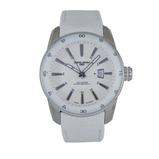 Jorg Gray Men's Circle Stripe Stainless Steel Watch