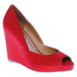 Women's Michael Antonio Amara Red Microfiber