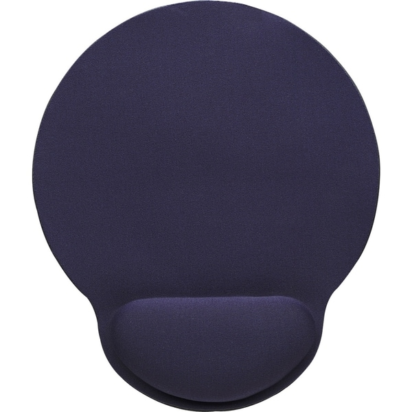 Manhattan Wrist-Rest Gel Mouse Pad, Blue