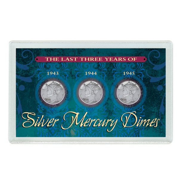American Coin Treasures Last Three Years of Silver Mercury Dimes