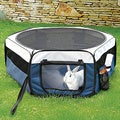 Trixie Pet Soft Sided Mobile Play Pen