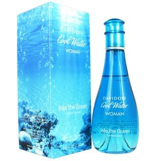 Davidoff Cool Water: Into The Ocean Women's 3.4-ounce Eau de Toilette Spray