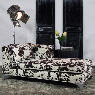 JAR Designs 'Dakota' Brown Right-hand Chaise