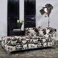 JAR Designs 'Dakota' Brown Left-hand Chaise
