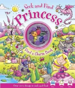 Seek and Find Princess: Find a Charm Book (Hardcover)