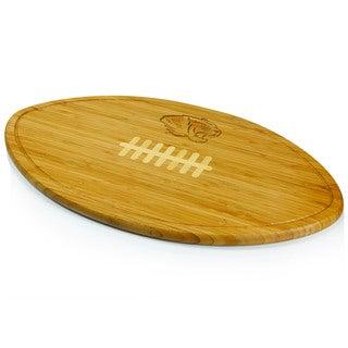 Picnic Time Kickoff University of Missouri Engraved Natural Wood Cutting Board