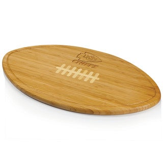 Picnic Time Kickoff University of Florida Gators Engraved Natural Wood Cutting Board