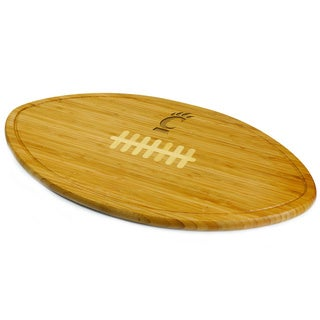 Picnic Time Kickoff University of Cincinnati Engraved Natural Wood Cutting Board