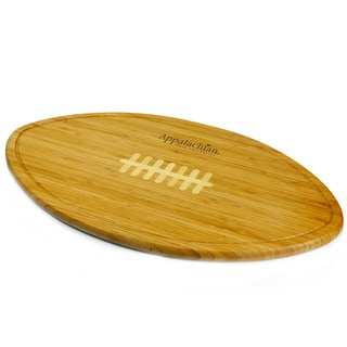 Picnic Time Kickoff Appalachian State Mountaineers Engraved Natural Wood Cutting Board