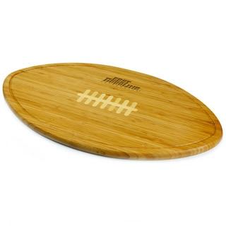 Picnic Time Kickoff East Carolina Pirates Engraved Natural Wood Cutting Board
