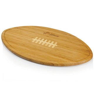 Picnic Time Kickoff University of Delaware Blue Hens Natural Wood Engraved Cutting Board