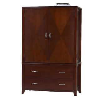 Bow Front 2-drawer 2-door Armoire