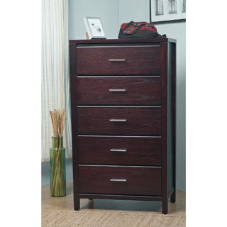 Tapered Leg Espresso 5-drawer Chest