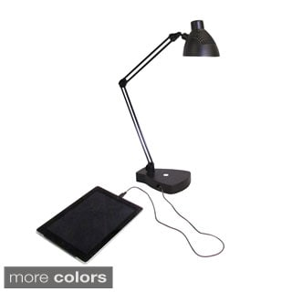 HomeSelects eLight LED USB Charger Task Lamp