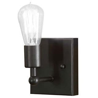 Shea Single Edison 1-light Bronze Sconce