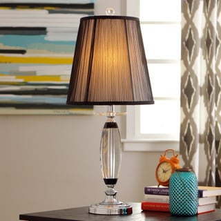 Dahlia Crystal Table Lamp