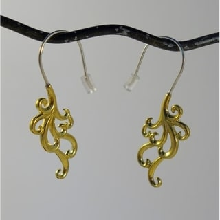 Swirl Cascade Tribal Fusion Earrings (Indonesia)