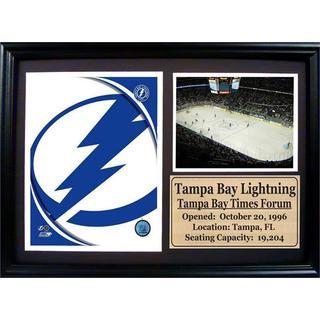 Tampa Bay Lightning 12 x 18 Photo Stat Frame