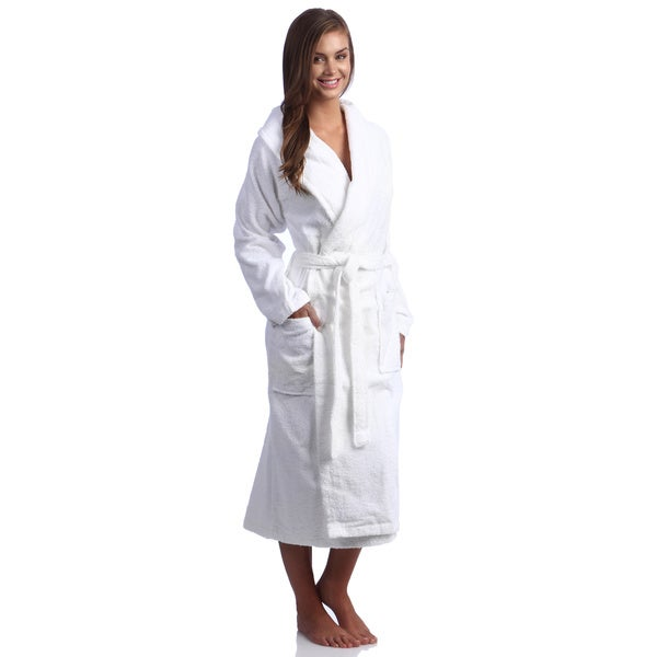 Shawl Collar Turkish Terry Bath Robe
