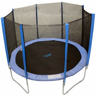 Upper Bounce 8 Pole Trampoline Enclosure (Fits 15-feet)