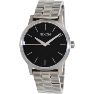 Nixon Women's Kensington Silver Stainless Steel Quartz Watch