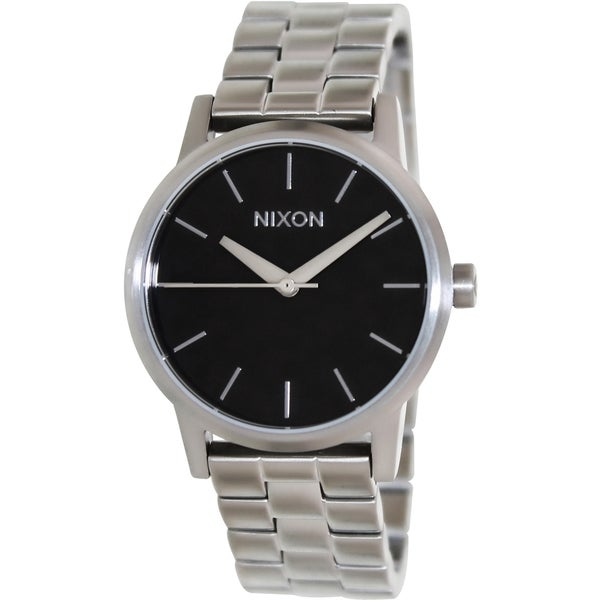 Nixon Women's Kensington Silver Stainless Steel Quartz Watch