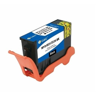 BasAcc Black Ink Cartridge Compatible with Dell 31
