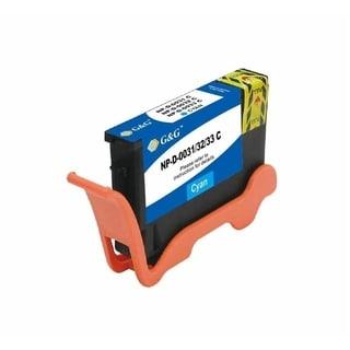 INSTEN Cyan Ink Cartridge for Dell 31