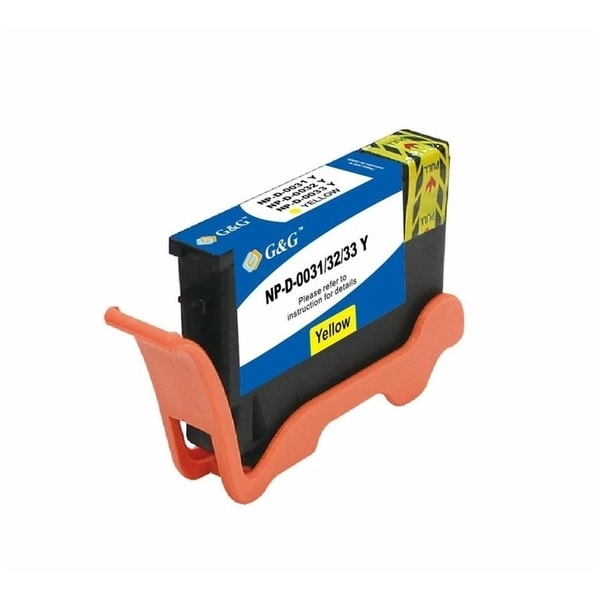 INSTEN Yellow Ink Cartridge for Dell 31