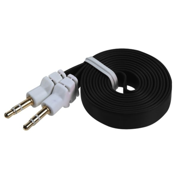 INSTEN Noodle Audio Cable with 3.5 mm Plug - Black