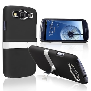 BasAcc Black/ Silver Case for Samsung Galaxy S3/ S III