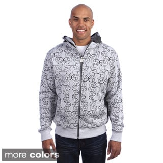 Flow Society Men's 'Lax Rat' Zip Face Hoodie
