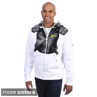 Flow Society Men's 'Flow Helmet' Lacrosse Face Zip Hoodie