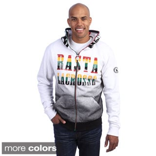Flow Society Men's 'Rasta Lax Lion' Zip Lacrosse Hoodie