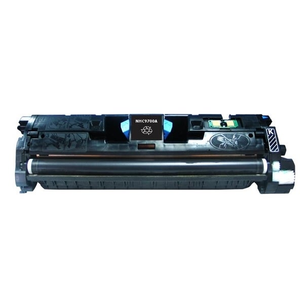 INSTEN Black Color Toner Cartridge for HP C9700A