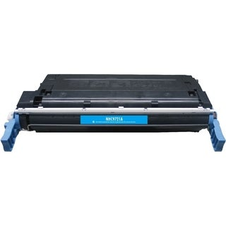 BasAcc Cyan Color Toner Cartridge Compatible with HP C9721A
