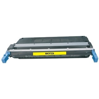 BasAcc Color Yellow Toner Cartridge Compatible with HP C9732A